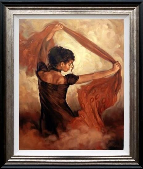 Mark Spain - 'Dance Of Silk' - Limited Edition Art