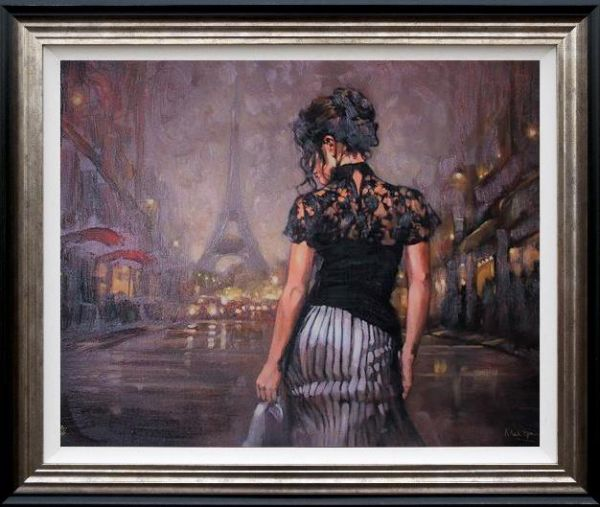 Mark Spain - 'Paris Nights' - Limited Edition Art
