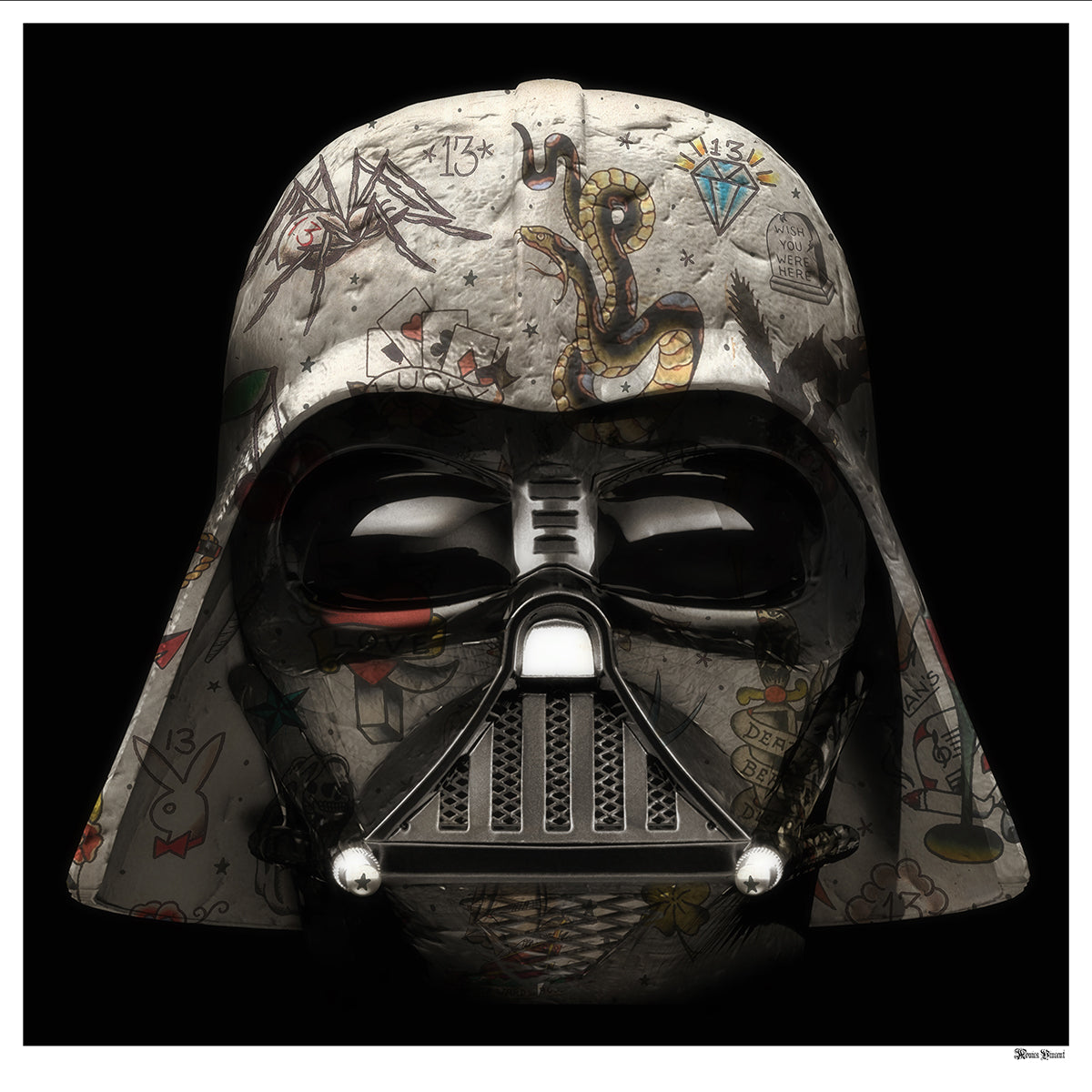Monica Vincent - 'Darth Vader' - Limited Edition Print