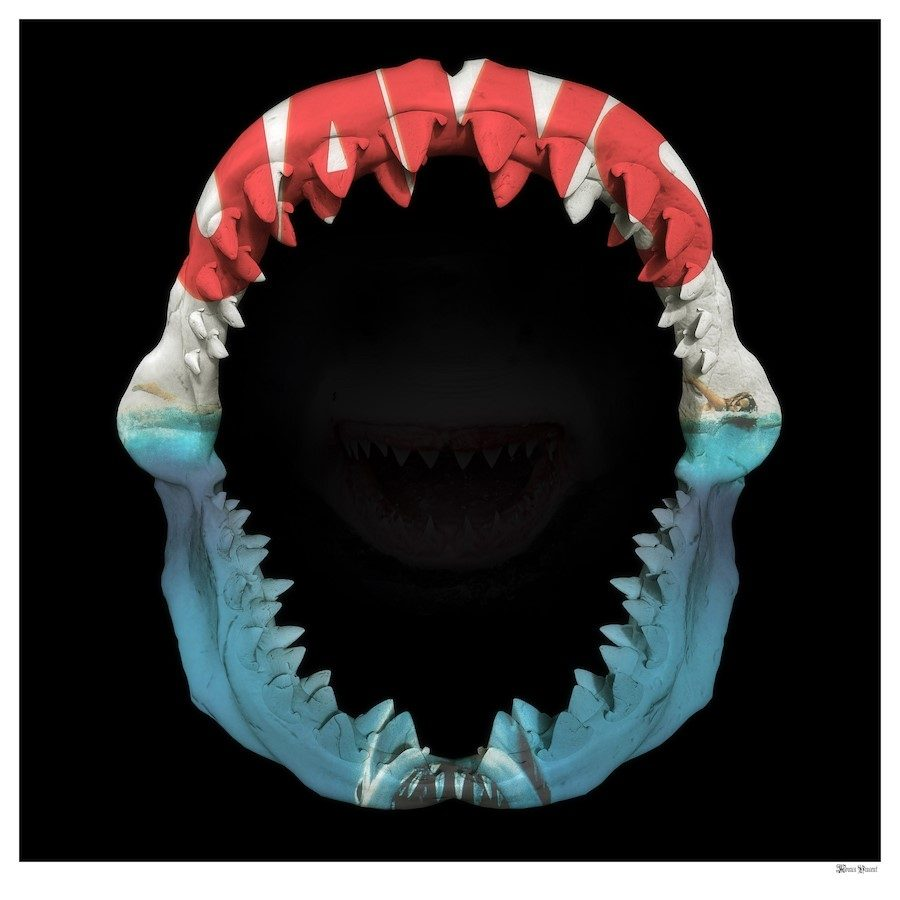 Monica Vincent - 'JAWS' - Limited Edition Print