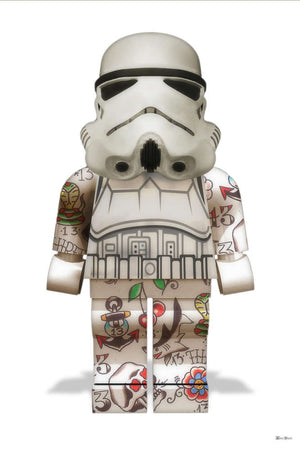 Monica Vincent - 'Lego Stormtrooper' - Limited Edition Print