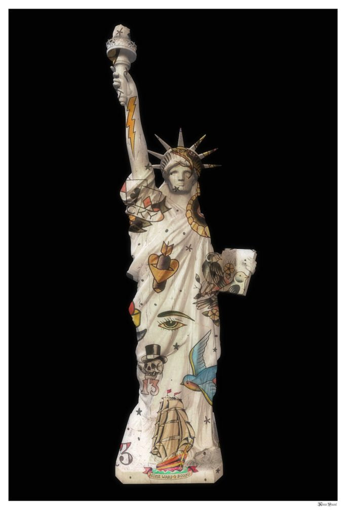 Monica Vincent - 'Liberty' - Limited Edition Print