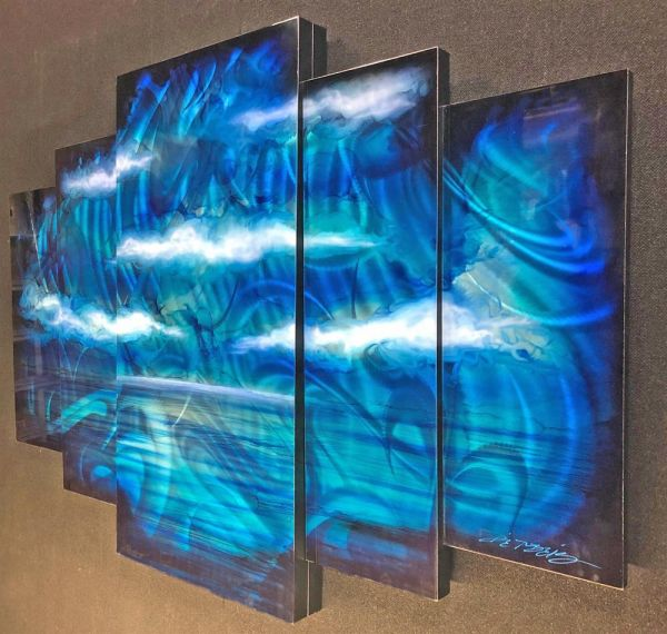 Chris DeRubeis - 'Mystic Sea 5 Panel 1507821' - Original Art
