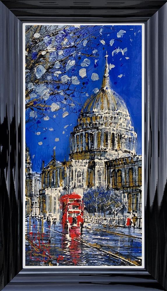 Nigel Cooke - 'Evening Shine on St Pauls' - Original Artwork for sale