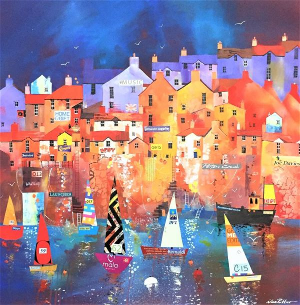 Nick Potter -'Harbour' - Original Art