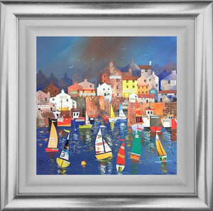 Nick Potter - 'Harbour Fun 3' - Original Art for sale
