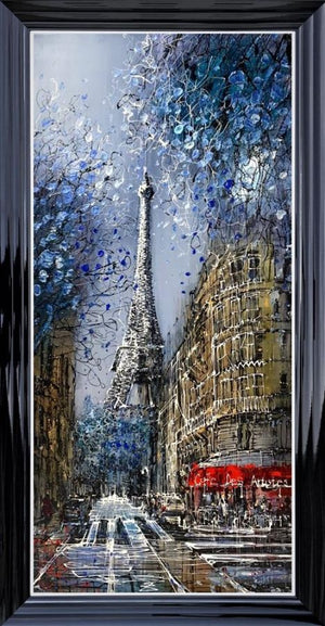Nigel Cooke - 'Eiffel Blossom' - Original Art