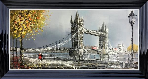 Nigel Cooke - 'London Walk' - Original Art