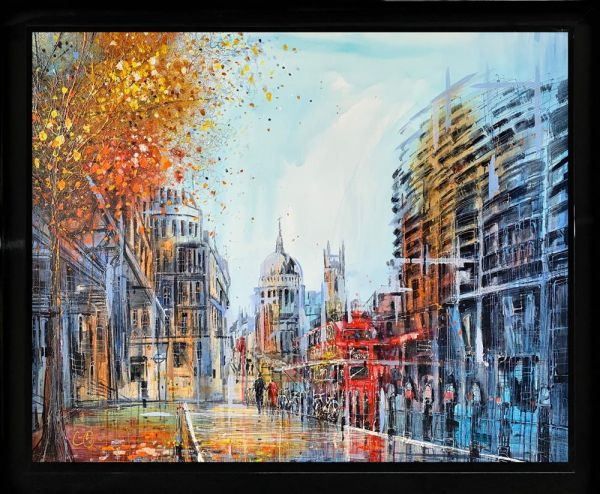 Nigel Cooke - 'Strolling to St Pauls' - Original Art
