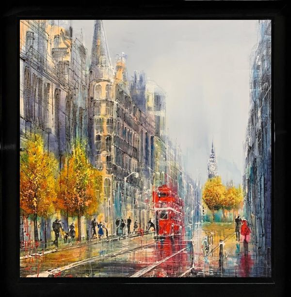 Nigel Cooke - 'Westminster Bound' - Original Art