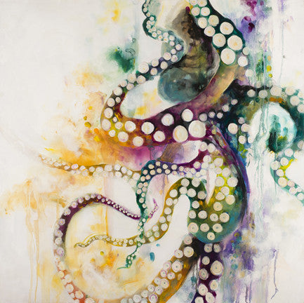 """ Octopus "" by Katy Jade Dobson (Framed limited edition print)"