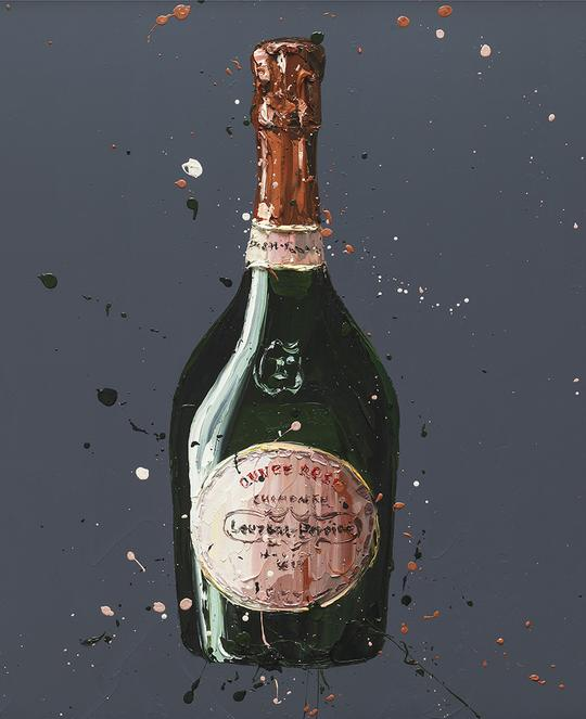 Paul Oz - 'Laurent Perrier Rose' - Limited Edition