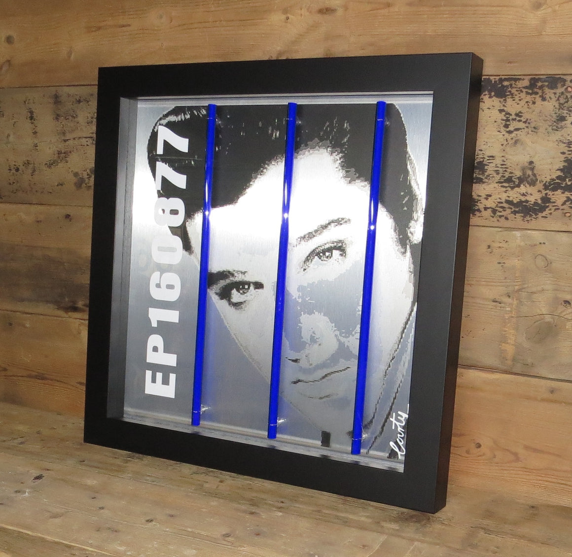 """Elvis Presley"" by Courty (FRAMED limited edition screen print)"