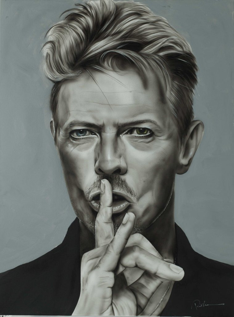 """China Girl (David Bowie)"" by Paul Karslake FRSA (limited edition print)"
