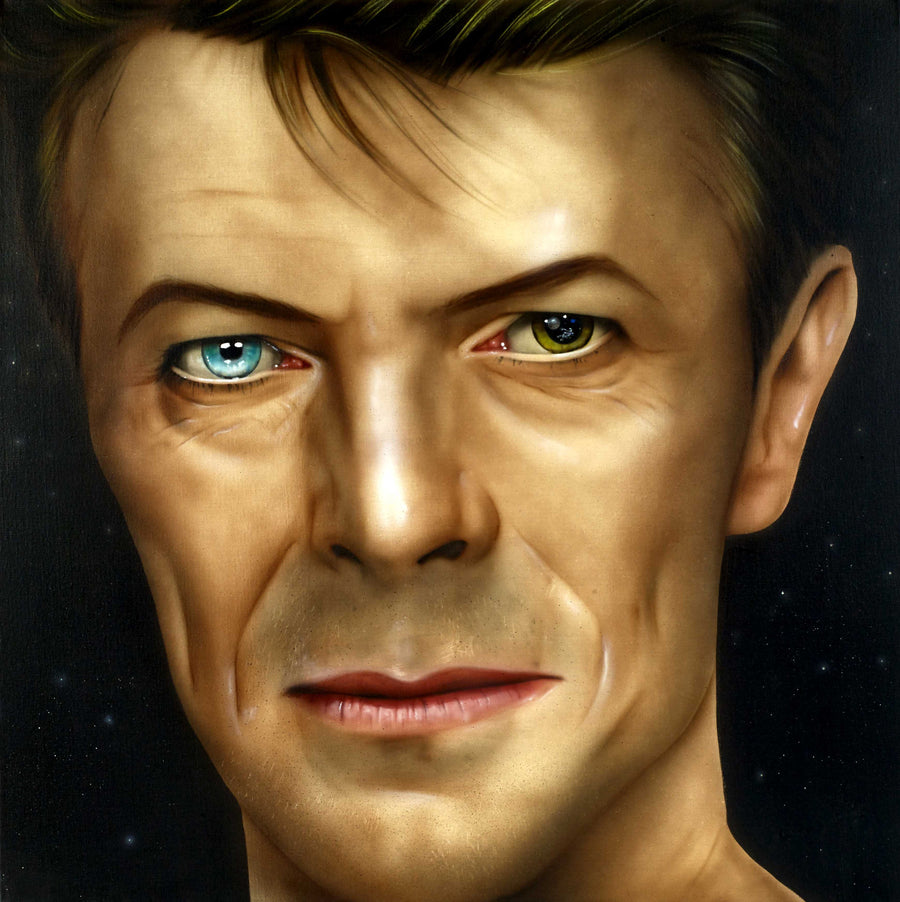 """David Bowie"" by Paul Karslake (limited edition print)"