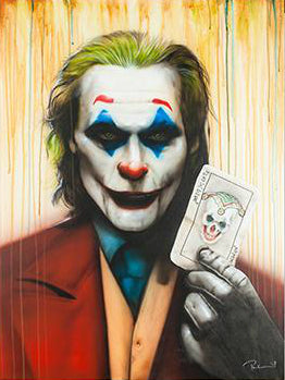 Paul Karslake FRSA - The Phoenix has Risen (The Joker) - Limited Edition Print