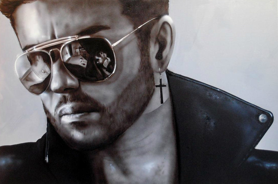 Paul Karslake FRSA - Faith (George Michael) - Limited Edition Print