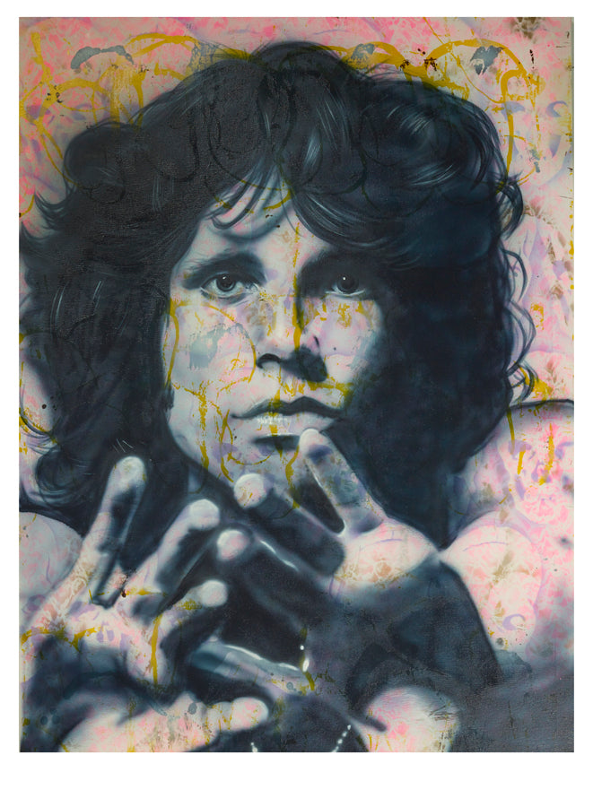 """Storm Rider (Jim Morrison)"" by Paul Karslake FRSA (limited edition print)"