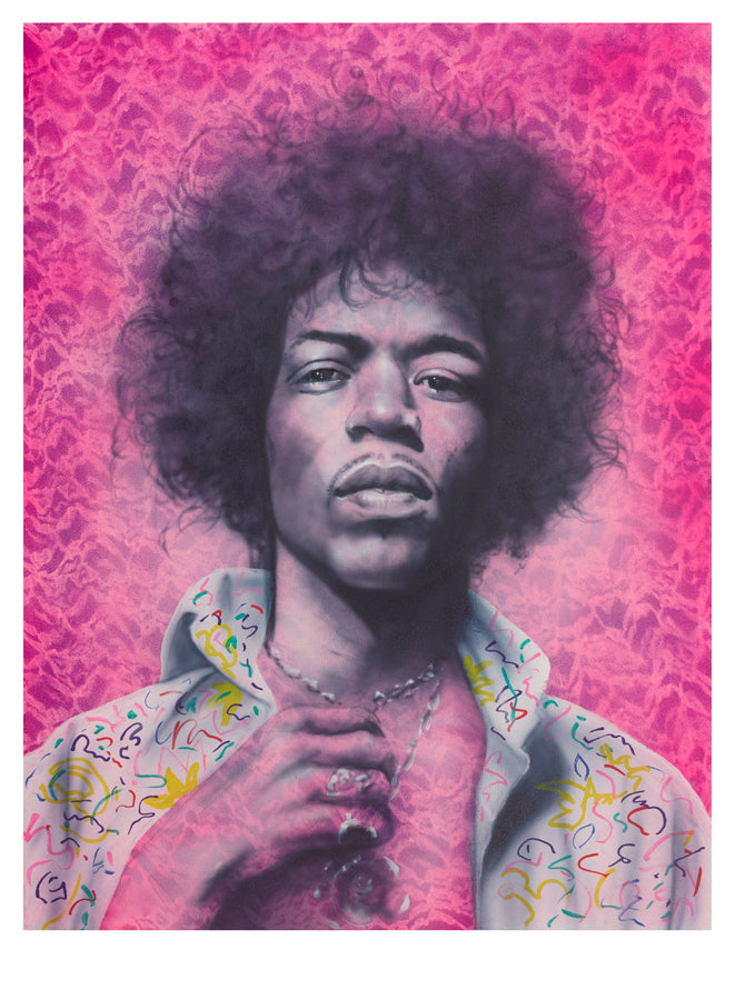 Paul Karslake FRSA - See You In The Next World (Jimi Hendrix) - Limited Edition Print