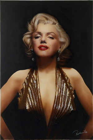 """Marilyn Monroer"" by Paul Karslake (limited edition print)"