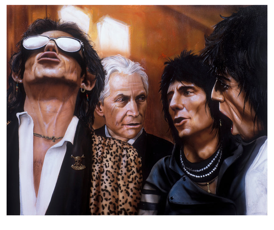 """Look To The Light (Rolling Stones)"" by Paul Karslake FRSA (limited edition print)"