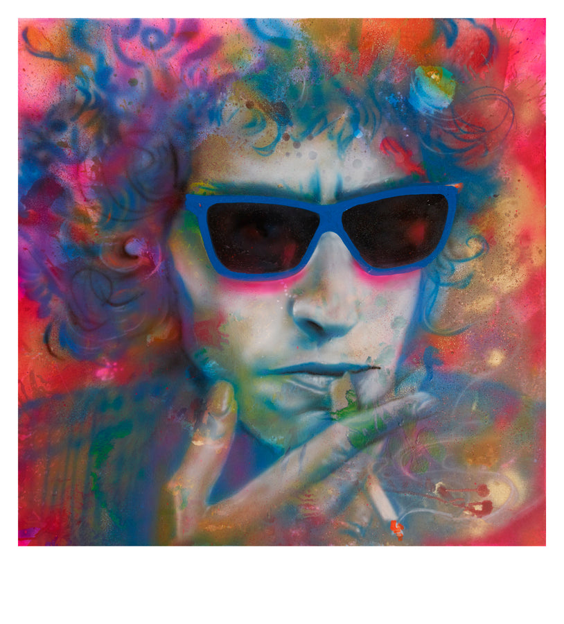 Paul Karslake FRSA - Seven Days (Bob Dylan) - Limited Edition Print