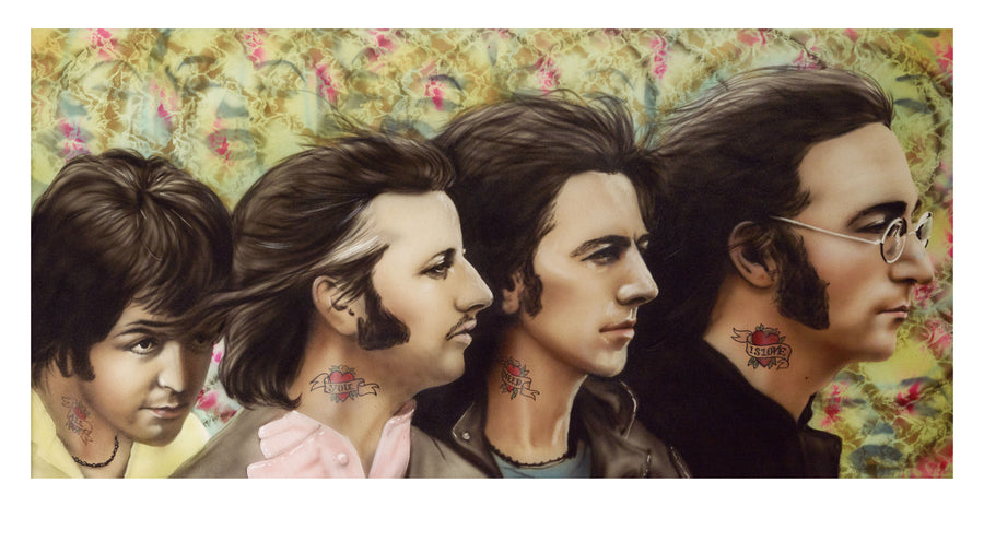 Paul Karslake FRSA - All You Need Is Love (The Beatles) - Limited Edition Print