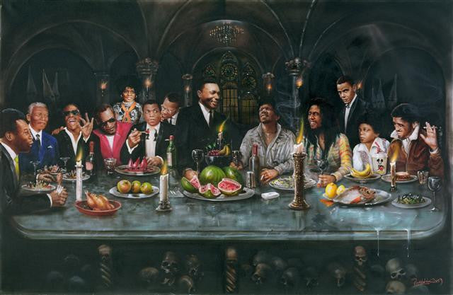 Paul Karslake FRSA - 'The Black Supper' - Limited Edition Print