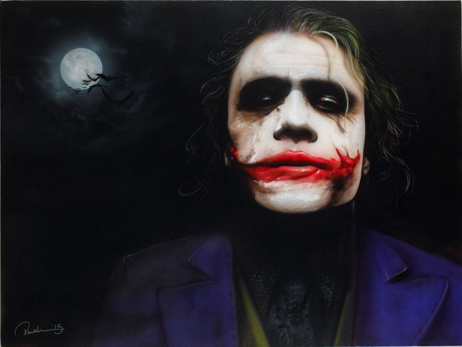 """The Dark Joker"" by Paul Karslake (limited edition print)"