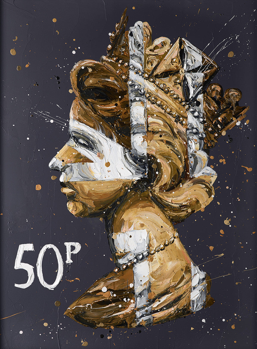 """50k Queen"" by Paul Oz (limited edition)"