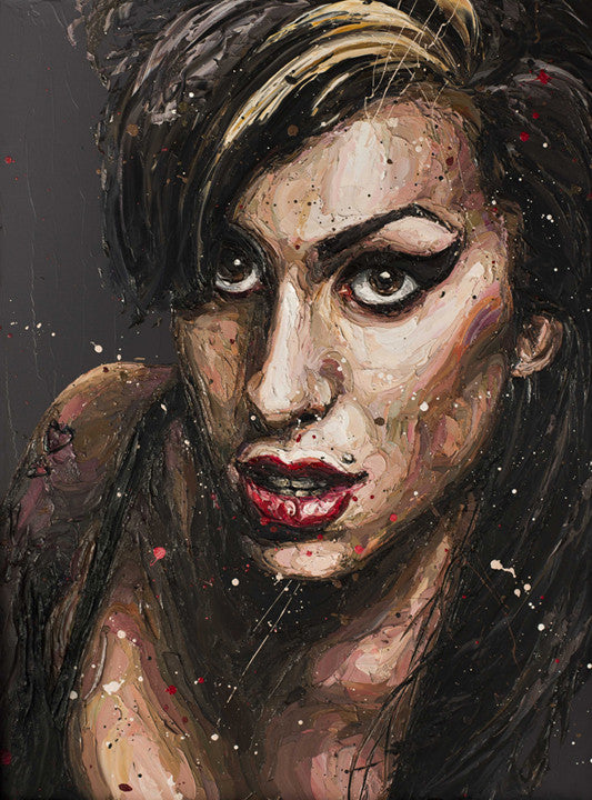 """Daddy's Girl"" (Amy Winehouse) by Paul Oz (limited edition print)"