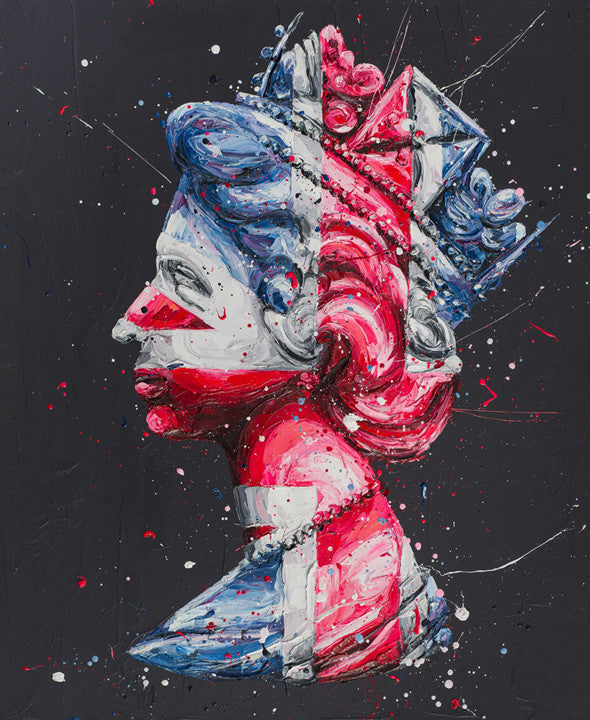 """The Queen of Neon"" by Paul Oz (limited edition print)"