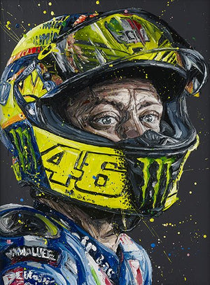 """Rossi Helmet"" by Paul Oz (limited edition)"