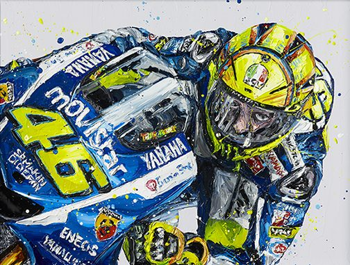 """Rossi"" by Paul Oz (limited edition)"