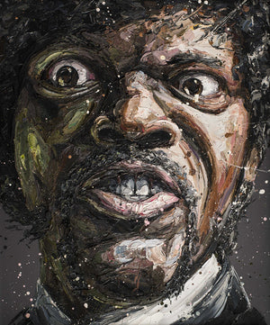 """Say What?"" (Samuel Jackson) by Paul Oz (limited edition print)"