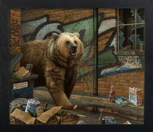 Paul James - 'Grizzly' - Deluxe Canvas - Limited Edition Artwork