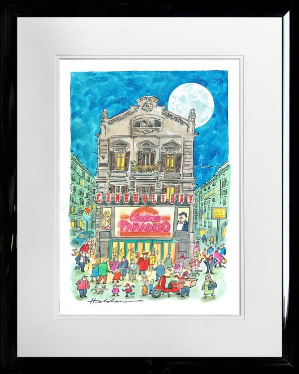 David Haldane - CINEMA PARADISO - Original Artwork