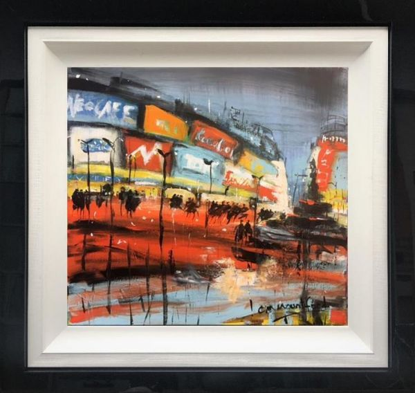 Carol Mountford - ' Piccadilly Circus' - Original Art