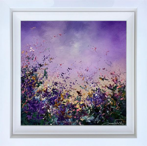 Jaanika Talts - 'Purple Rain' - Original Art
