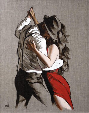 Richard Blunt - 'My Heart Is Still Dancing - Sketch' - Limited Edition
