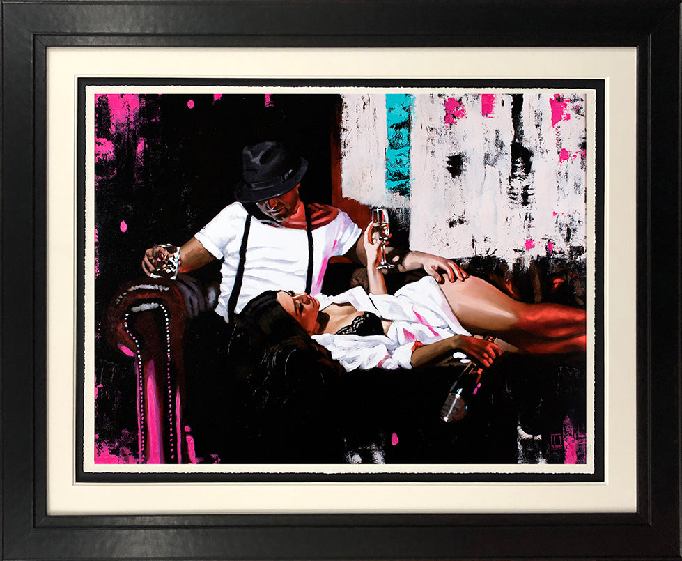 Richard Blunt - 'Pink Champagne' - Limited Edition Art