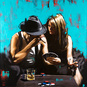 Richard Blunt - Royal Flush - Limited Edition Artwork