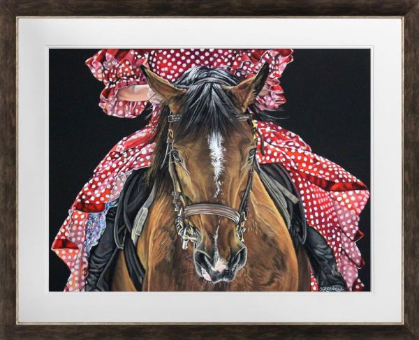 Samantha Greenhill - 'Spanish Horse'- Original Art