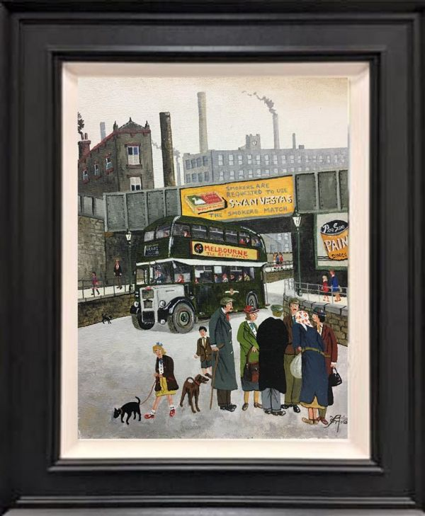Allen Tortice - 'The Old Green Bus' - Original Artwork