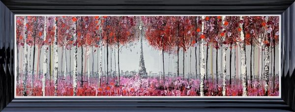 Nigel Cooke - 'Through The Trees In Paris' - Original Art