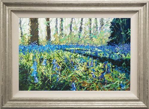 Timmy Mallett - 'Bluebell Time' - Limited Edition Art