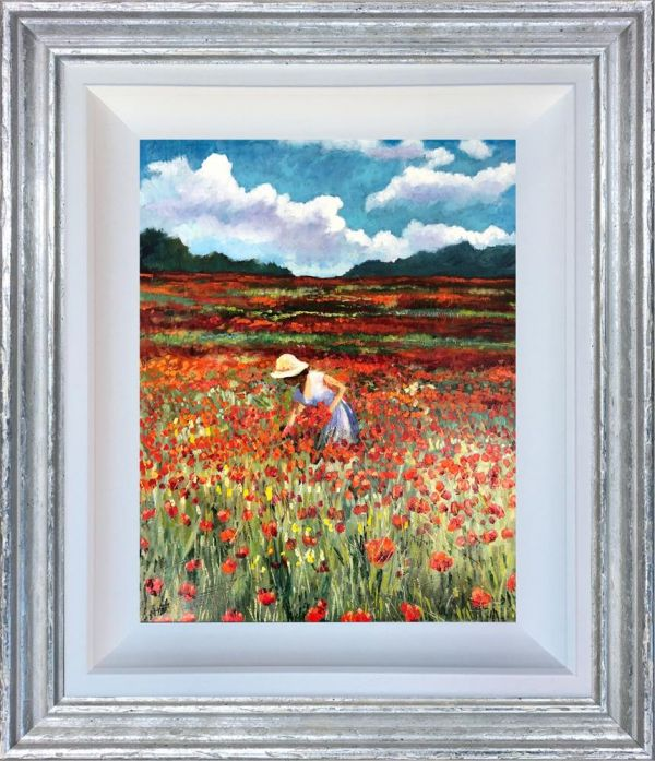 Timmy Mallett - 'Lady in Red' - Original Art