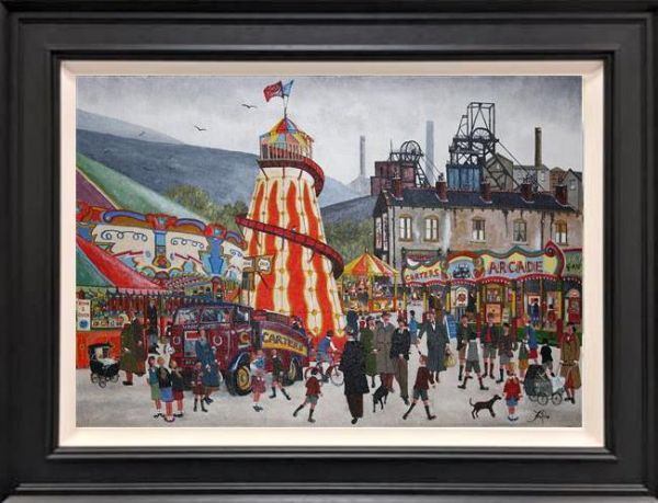 Allen Tortice - 'Village Fair' - Original Artwork