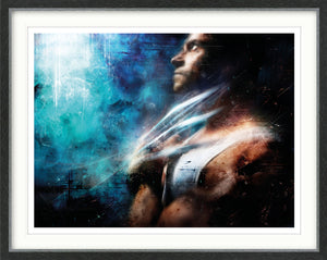 Mark Davies - When You Cage The Beast...' (Wolverine) - Limited Edition