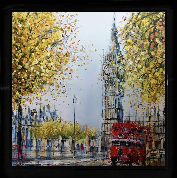 Nigel Cooke - 'Westminster Routemaster' - Original Art